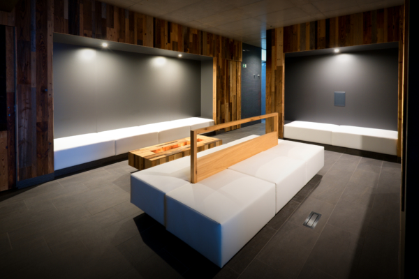 Wellness sauny