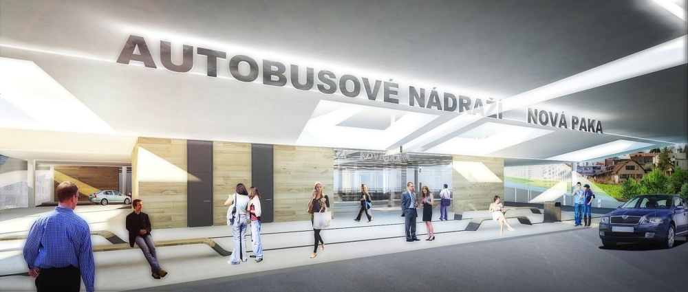 Autobusové nádraží Nová Paka
