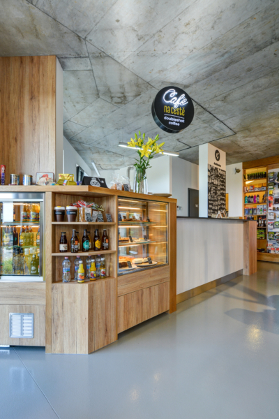 Kavárna Cestovatelský obchod
